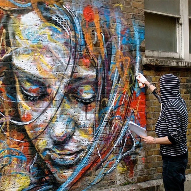 Brush-Less Portraits by David Walker