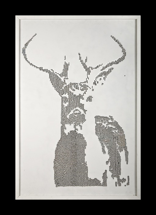 bullet_art_deer