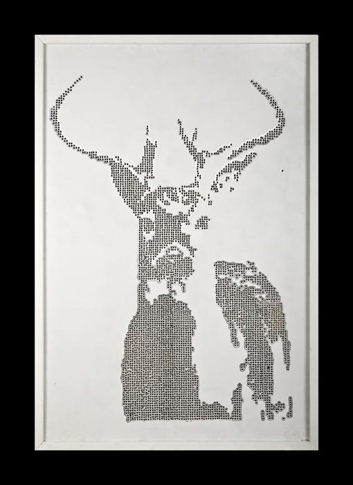 bullet_art_deer