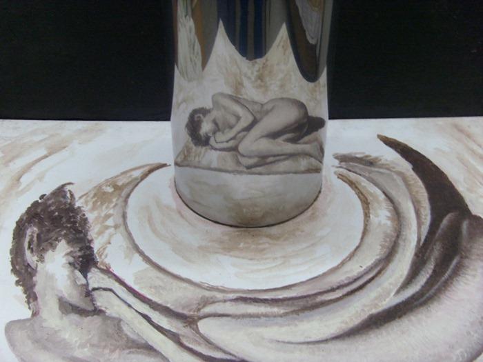 pittura e anamorfosi