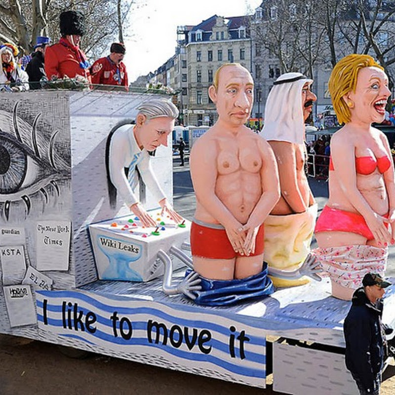 Political Satire at German Carnival 2011