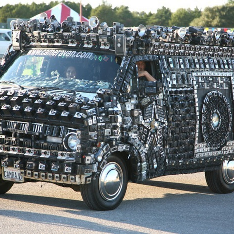 The Crazy Camera Van