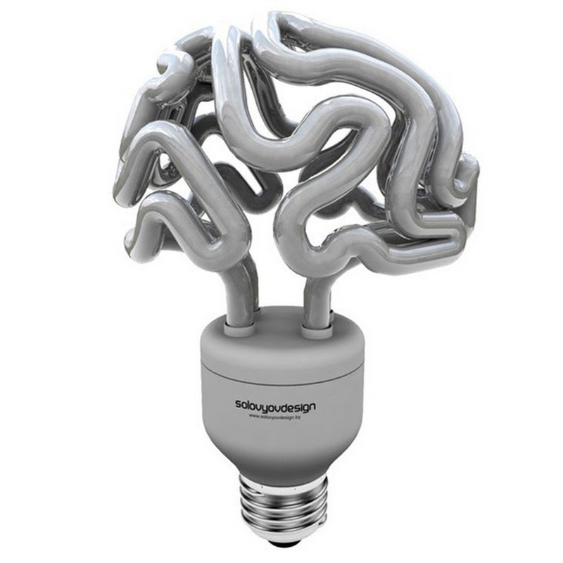 Brain Lamp by Solovyov Design