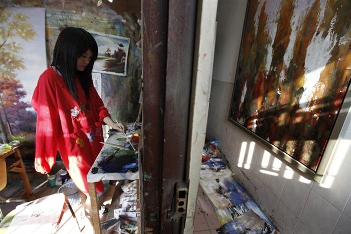dafen-oil-painting-village15