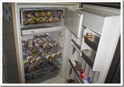 geladeira cheia de skol
