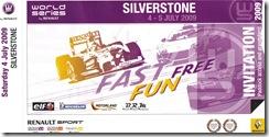 Silverstone ticket