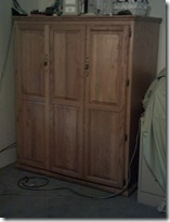 closed armoire