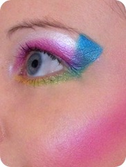 1980&#39;s Make-Up eye close up HCMUA
