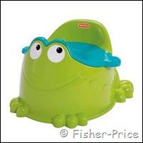 frog potty