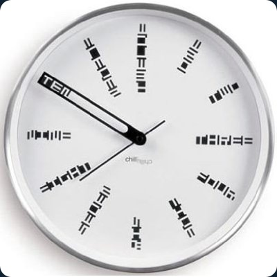 Secret-Code-Wall-Clock