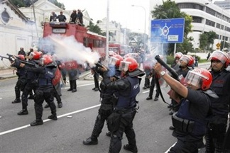 Malaysia Opposition Protest