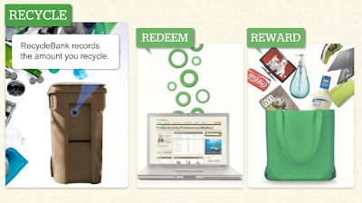 RecycleBank's recycle, redeem, reward