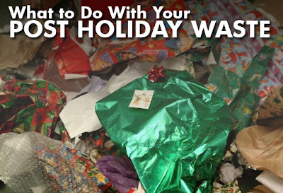 What to do with your post-holiday waste