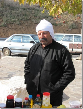 Druze Fruit Vendor