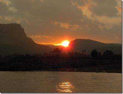Sea of Galilee Sunset 2