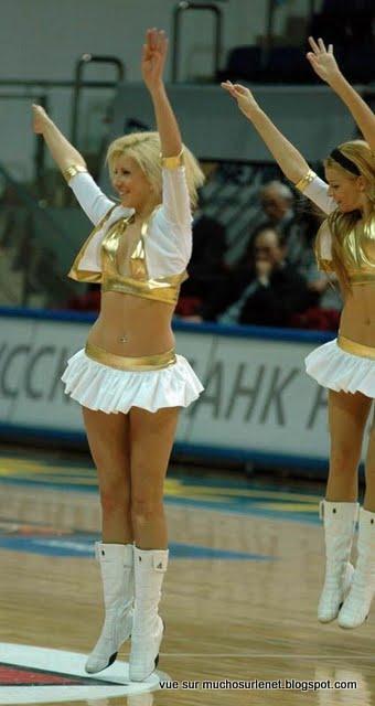 Pom Pom girl Russe