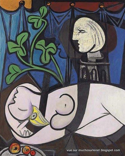 Nu au plateau de sculpteur de Picasso