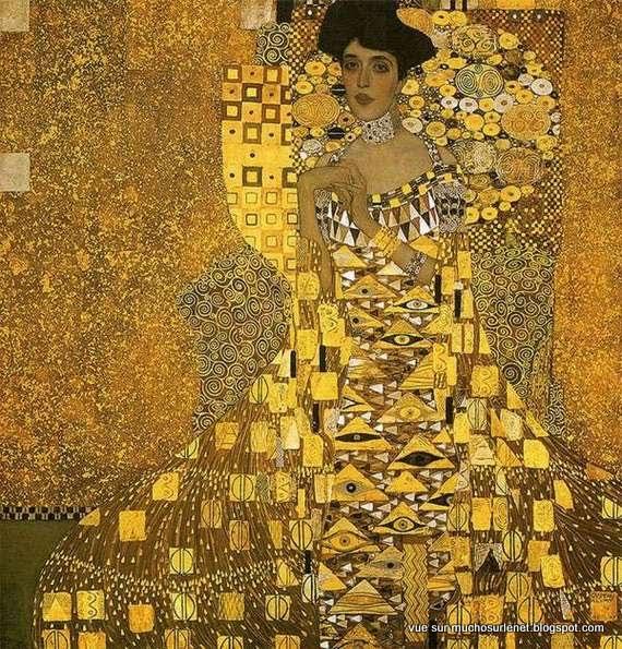 Portrait d'Adèle Bloch-Bauer I de Gustav Klimt