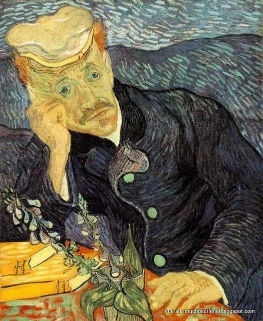 Portrait du Dr Gachet de Vincent van Gogh