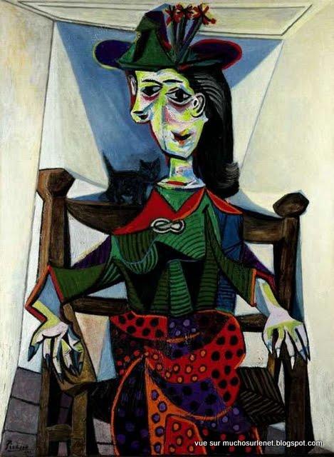 Dora Maar au chat par Pablo Picasso