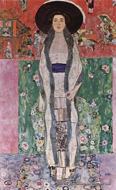 Portrait d'Adèle Bloch-Bauer II par Gustav Klimt