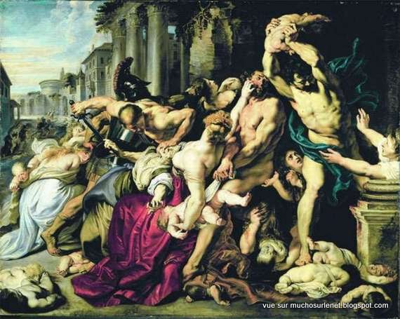 Massacre des Innocents de Peter Paul Rubens