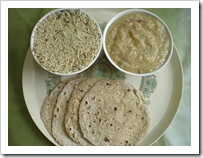 Srividhya's dal roti