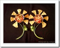 Nithya's Tortilla and Salsa for event