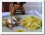 kanchan's pasta with sauteed vegiies