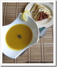Jyoti V's apple and carrot soup