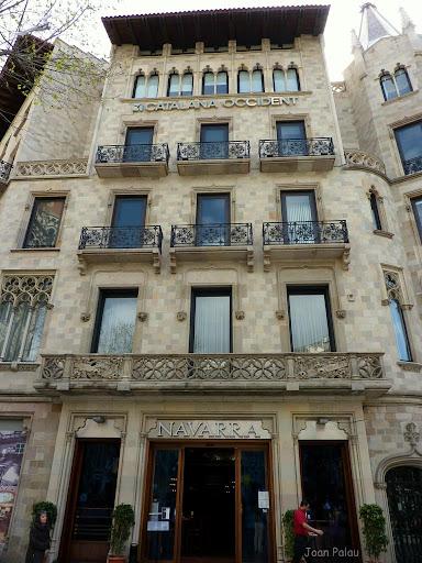 Casas pascual y pons barcelona modernista i singular - Calle casp barcelona ...