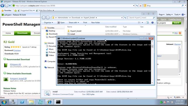 install hyper-v module14