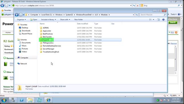 install hyper-v module23