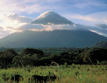 Volcán Concepción - one of the greatest active volcanoes in Nicaragua