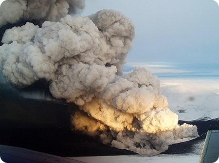 Volcán Islandés tambien afecta al ppt San sebastian 2010