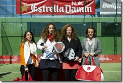 Ganadores Categoria Femenina EstrellaDamm Pádel Las Rejas