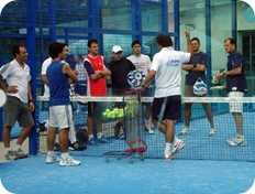 Nito Brea Curso Instructor Padel 2010