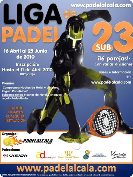 Liga Padel Alcala Sub23