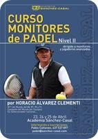 Curso Monitores Padel NIvel II Alvarez Clementi en Academia Sanchez Casal