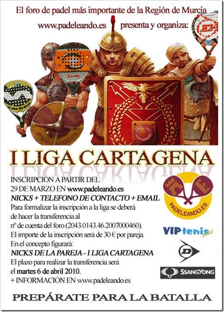 I Liga de Padel Cartagena, Foro Padeleando