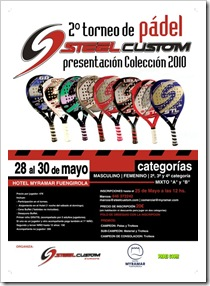 Torneo Padel Steel Custom Colección 2010 Hotel Myramar