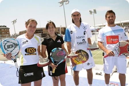 Campeones Campeonato Nacional de Pádel Ciudad de la Raqueta 2010