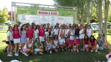Torneo Woman & Padel Participantes 2010