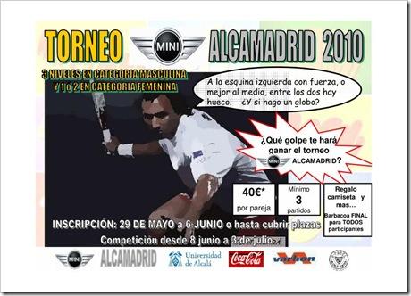 Torneo Padel Mini AlcaMadrid 2010 UAH