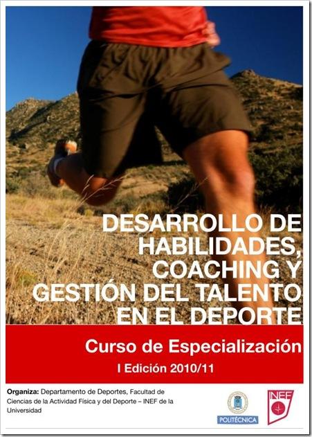 Curso Coaching Deportivo INEF 2010-2011 Portada