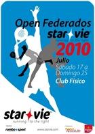 Open Federados STAR VIE 2010 Club Fisico Majadahonda Cartel