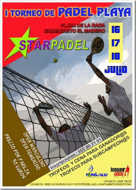 I Torneo de Padel Playa en Espona STAR PADEL JULIO 2010