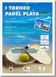 padel playa collados beach torneo