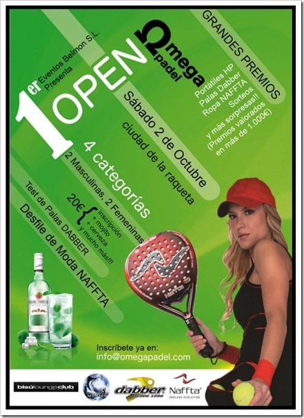 I open omega padel en la ciudad de la raqueta madrid