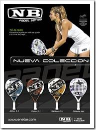 nueva coleccion palas de padel ENEBE 2010